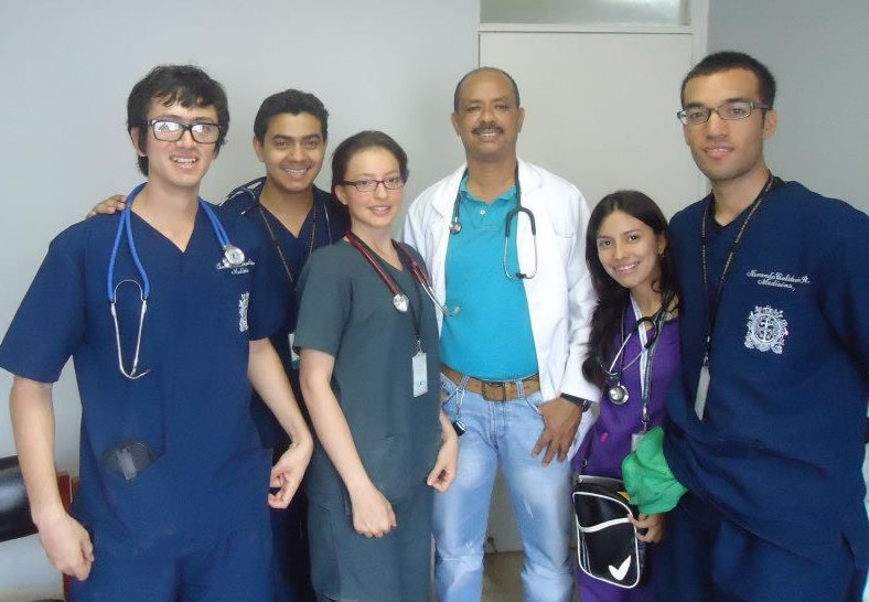 Three UdeA students to participate in clinical electives at