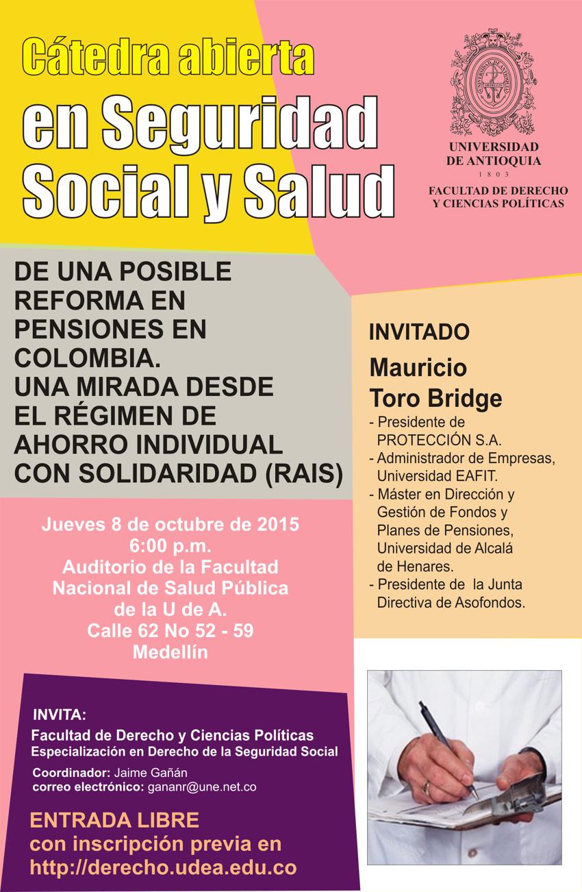 Catedra Abierta En Seguridad Social Y Salud