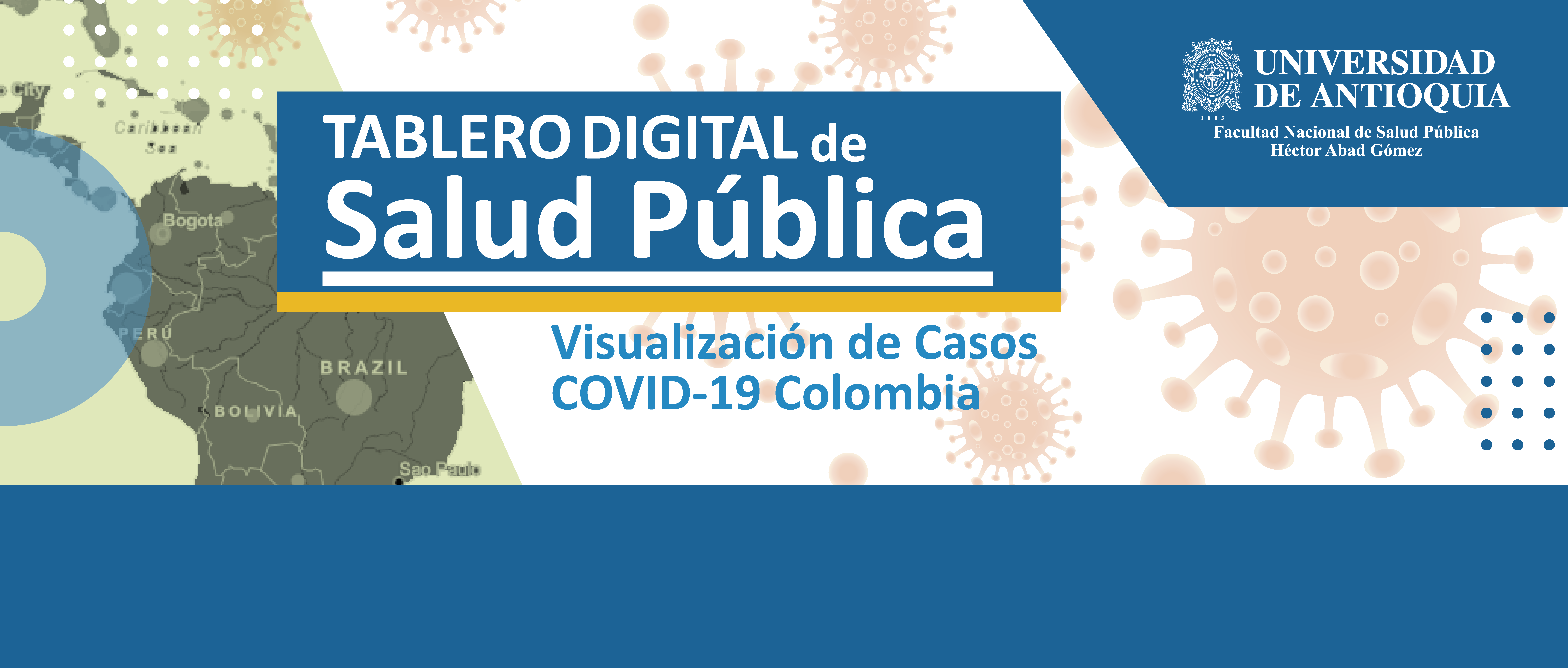 Visualización Casos Covid-19 Colombia