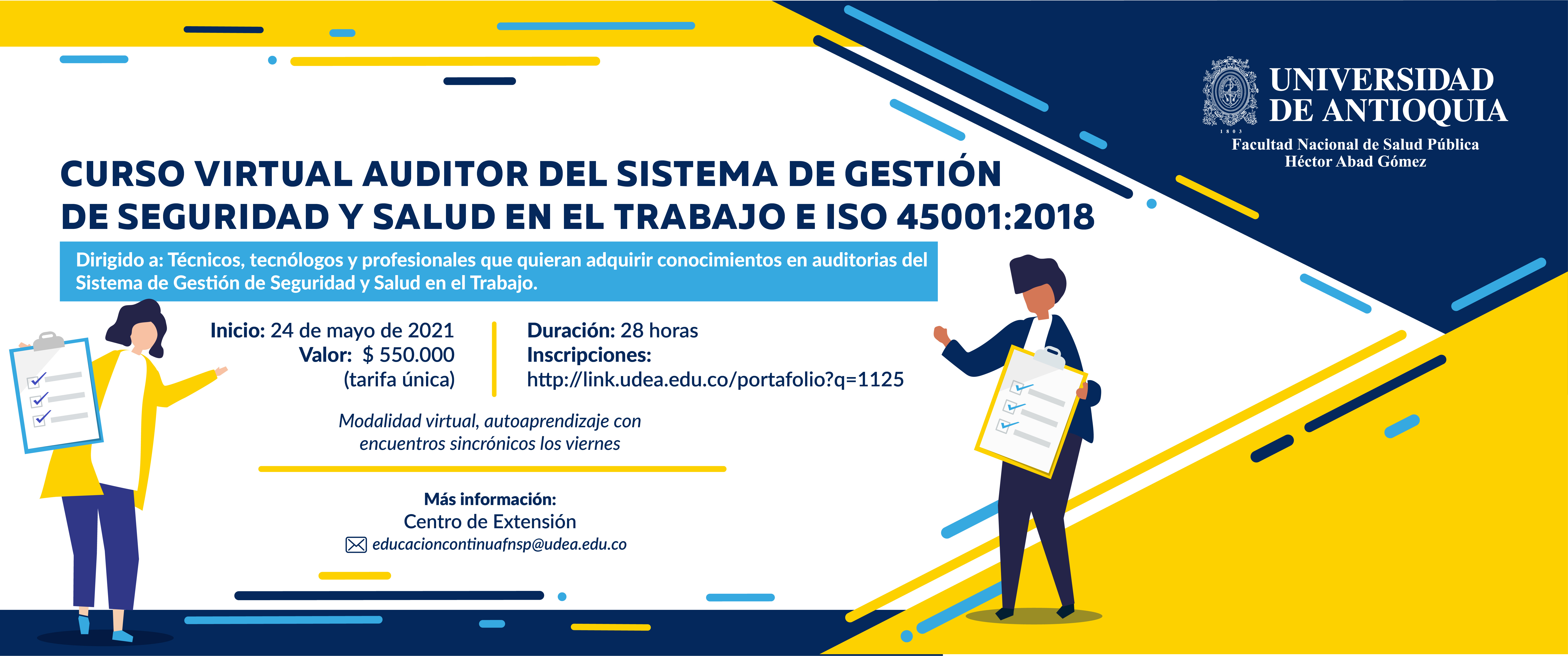 Curso virtual de Auditor interno