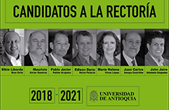 Secretaría General acredita candidatos a la rectoría